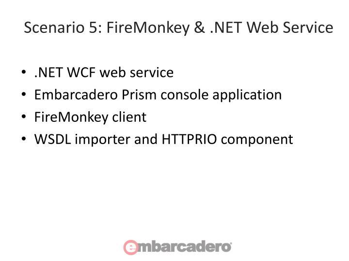 Scenario 5: FireMonkey & .NET Web Service