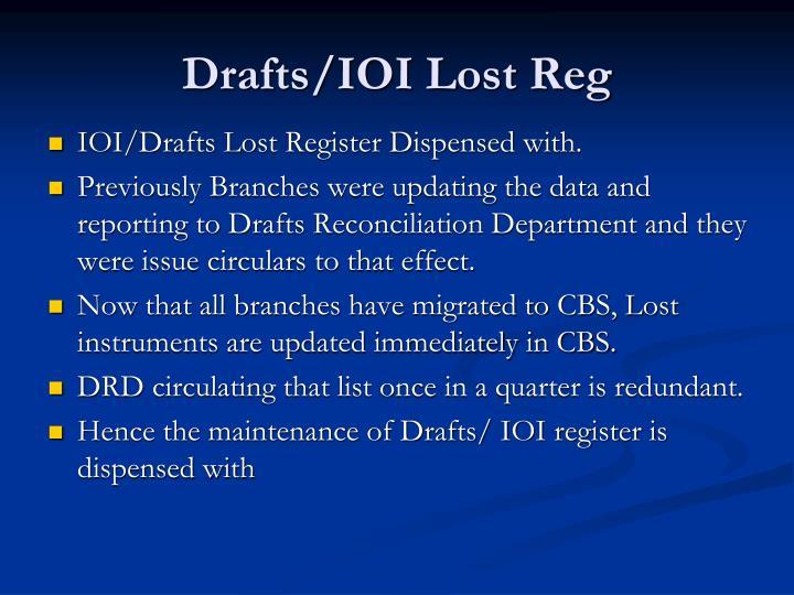 Drafts/IOI Lost Reg