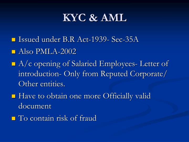 KYC & AML