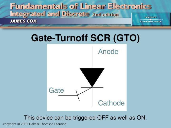 Gate-Turnoff SCR (GTO)