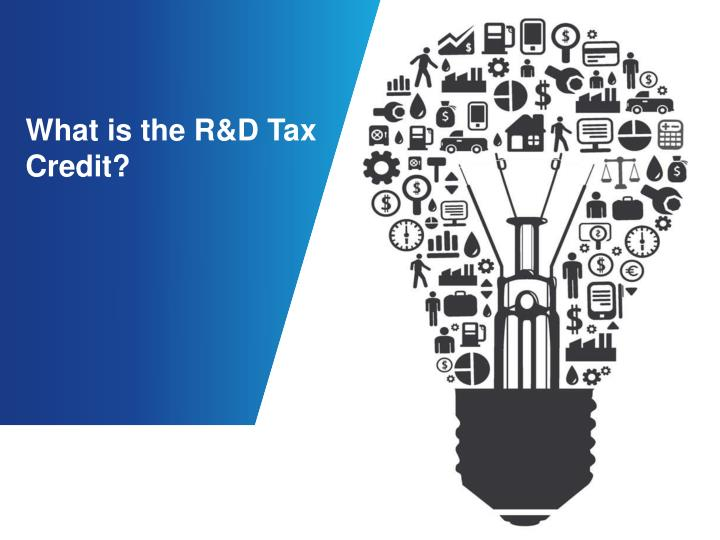 What is the r d tax credit