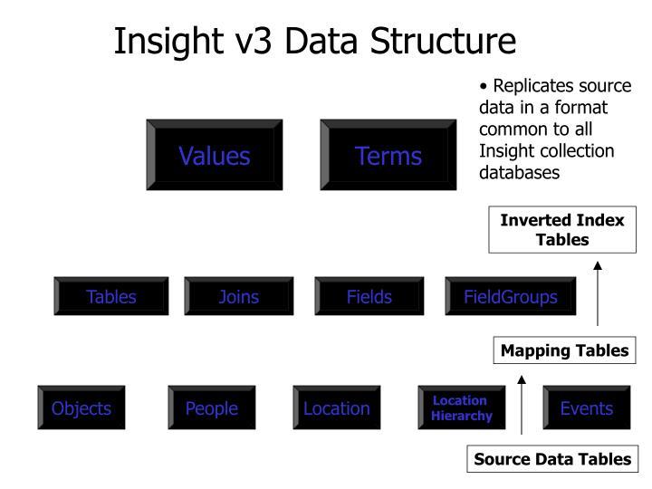 Insight v3 Data Structure