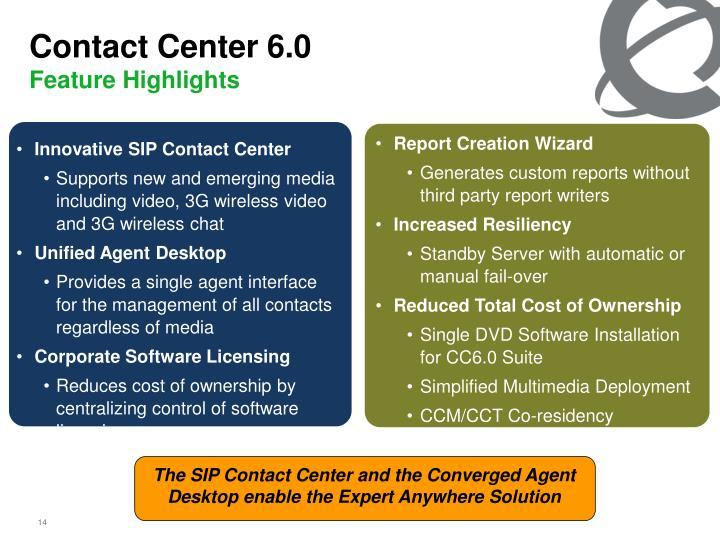 Contact Center 6.0