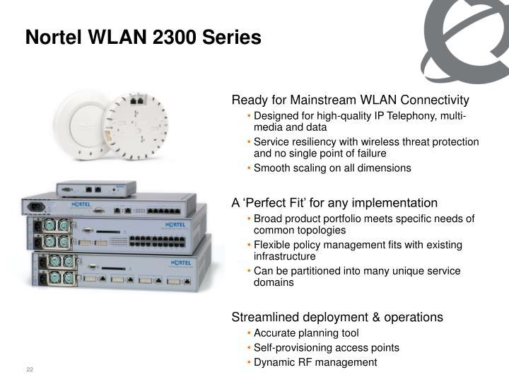 Nortel WLAN 2300 Series