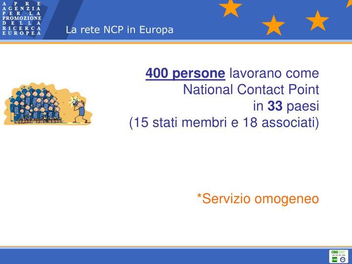 La rete NCP in Europa