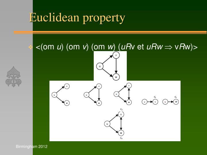 Euclidean property