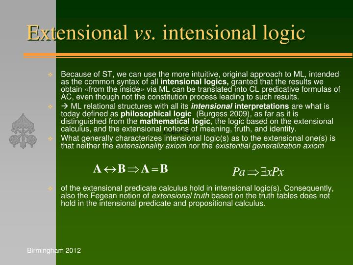 Extensional