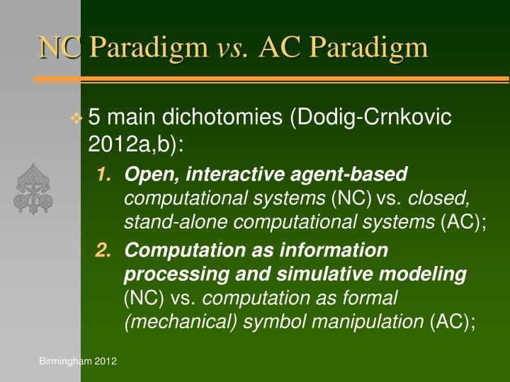 NC Paradigm