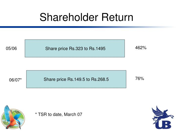 Shareholder Return