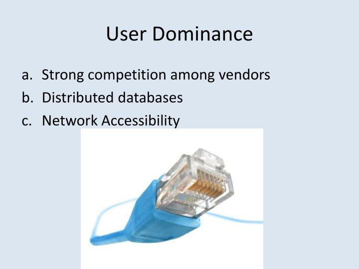 User Dominance