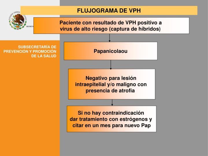 FLUJOGRAMA DE VPH