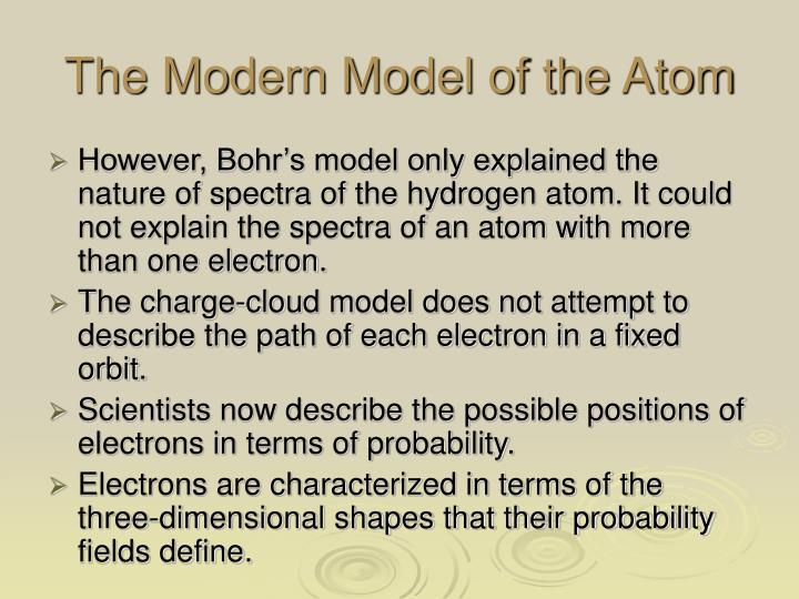 The Modern Model of the Atom
