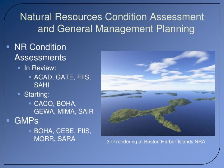 Natural Resources Condition Assessment