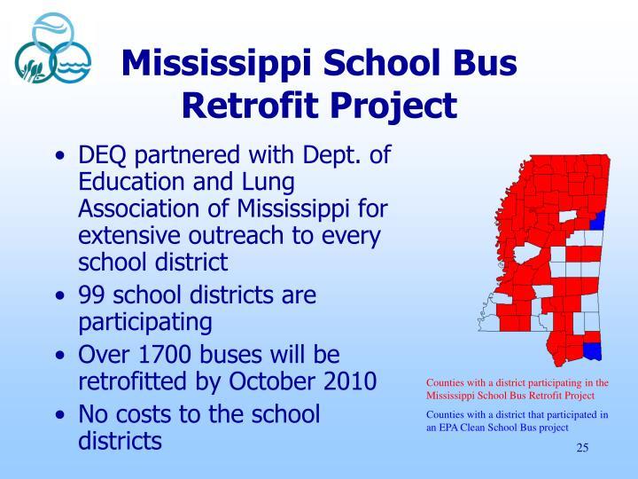 Mississippi School Bus