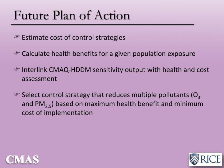 Future Plan of Action