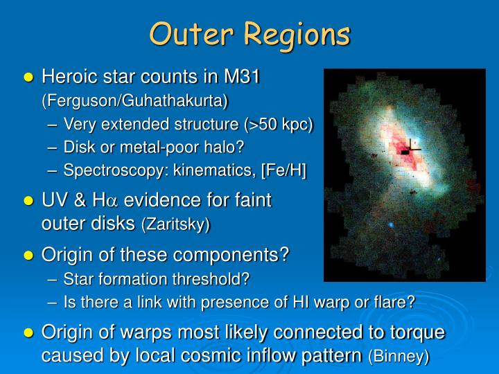 Outer Regions