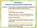 standard i teachers demonstrate leadership1