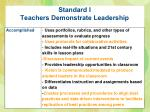 standard i teachers demonstrate leadership2