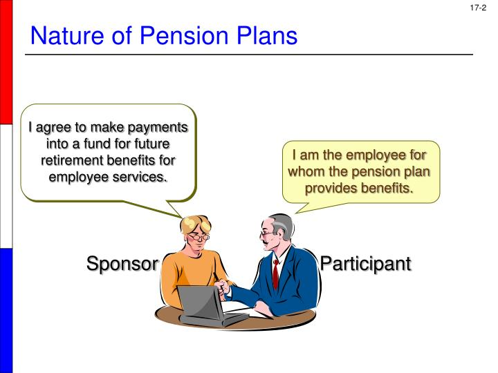I agree to make payments into a fund for future retirement benefits for employee services.
