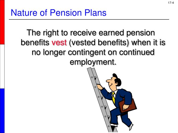 The right to receive earned pension benefits