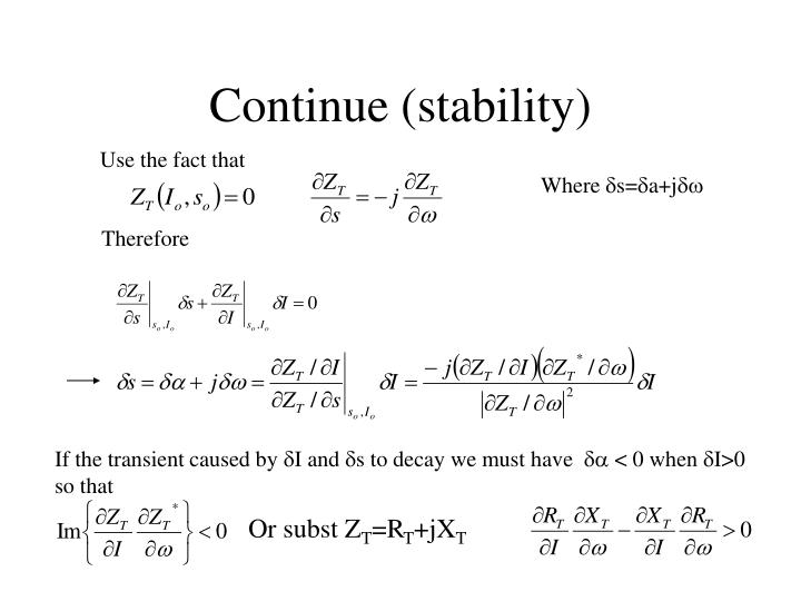 Continue (stability)