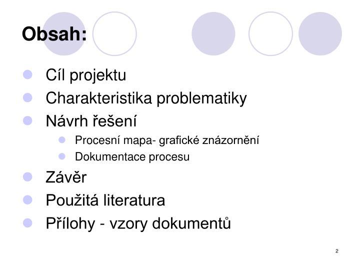 Obsah: