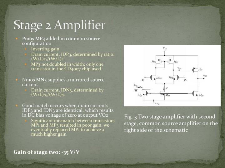 Stage 2 Amplifier