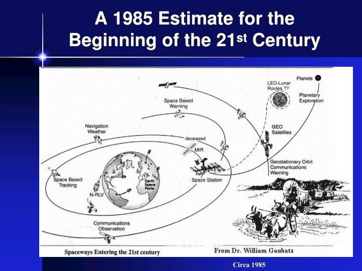 A 1985 Estimate for the