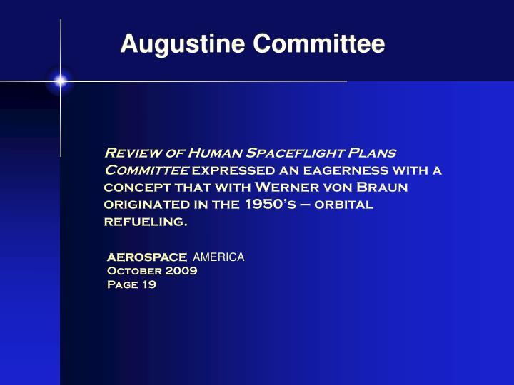 Augustine Committee