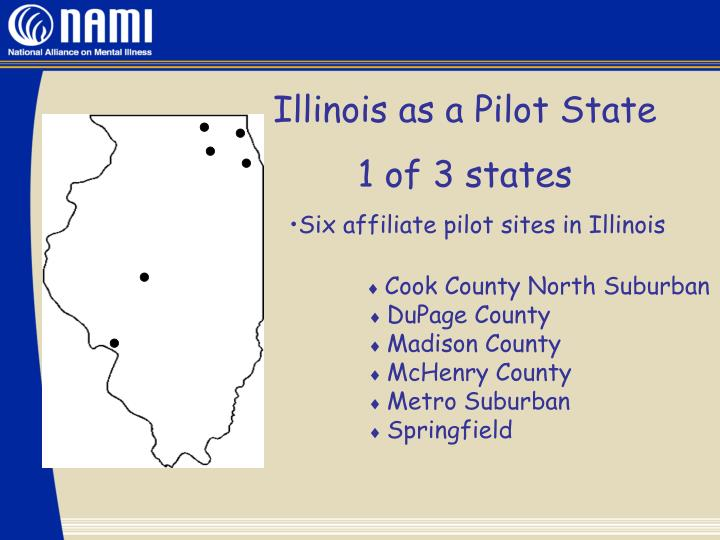 Illinois as a Pilot State