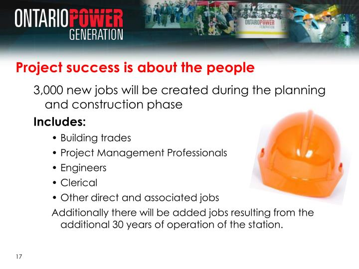 Project success is about the people
