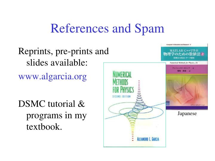 References and Spam