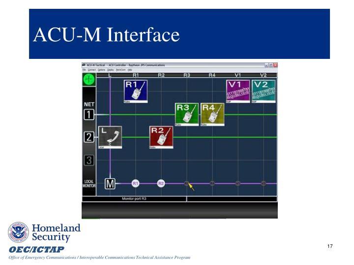 ACU-M Interface