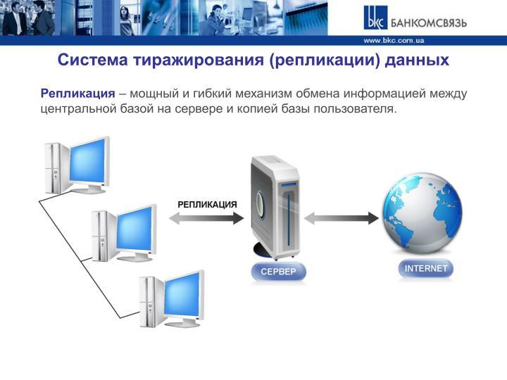Система тиражирования (репликации) данных