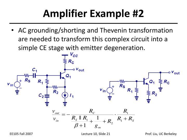 Amplifier Example #2