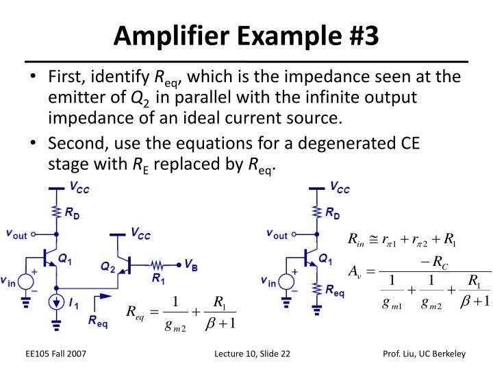 Amplifier Example #3