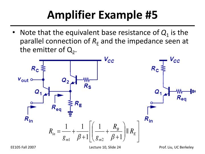 Amplifier Example #5