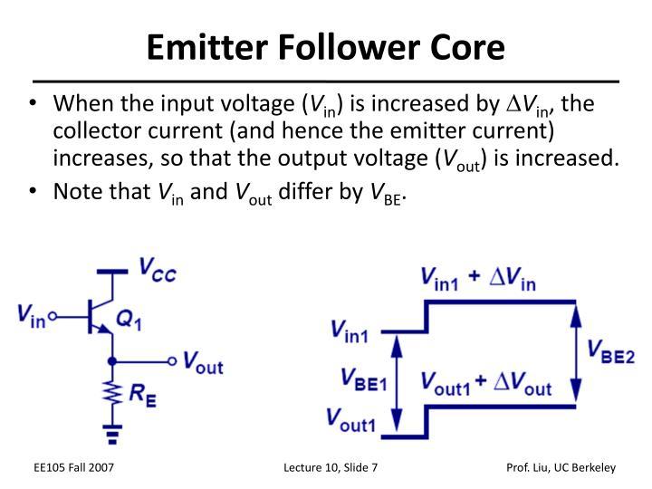 Emitter Follower Core
