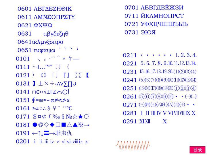 0701 АБВГДЕЁЖЗИ