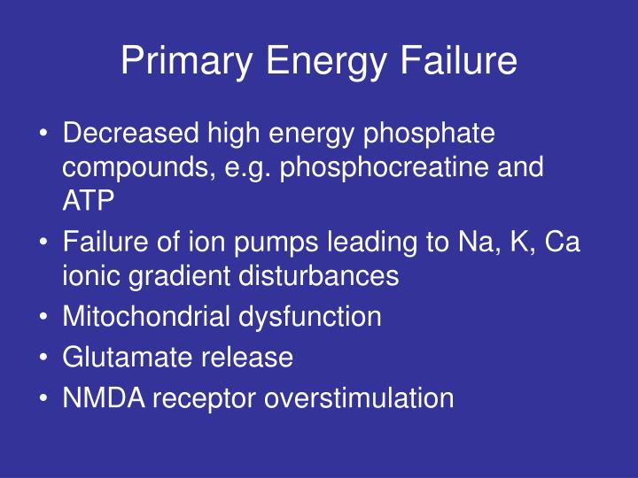 Primary Energy Failure
