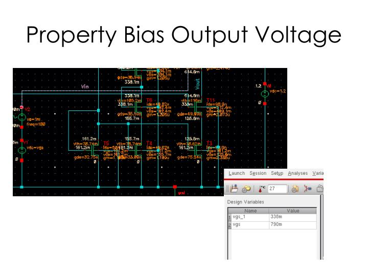Property Bias Output Voltage