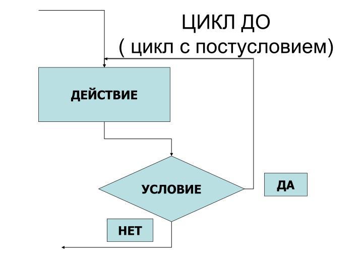 ЦИКЛ ДО