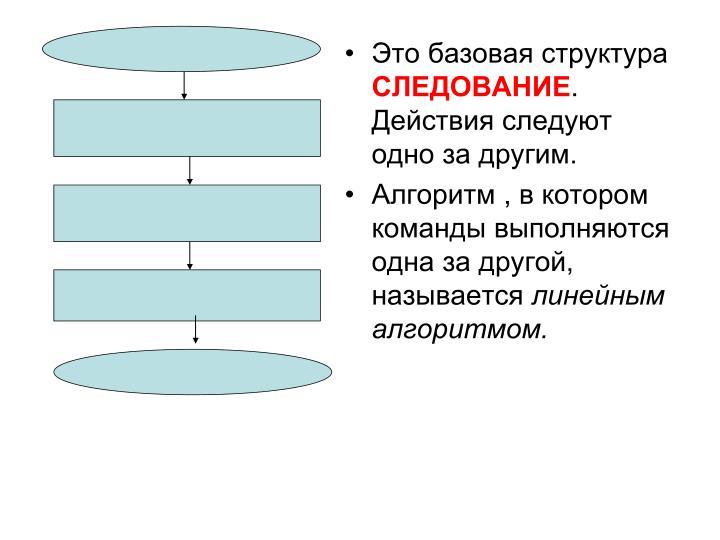 Это базовая структура