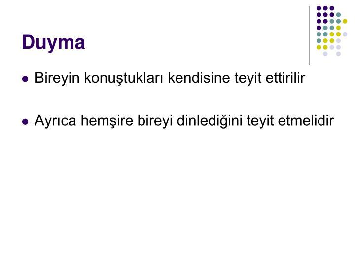 Duyma