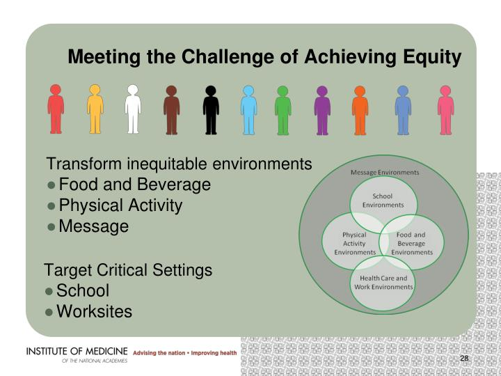 Meeting the Challenge of Achieving Equity