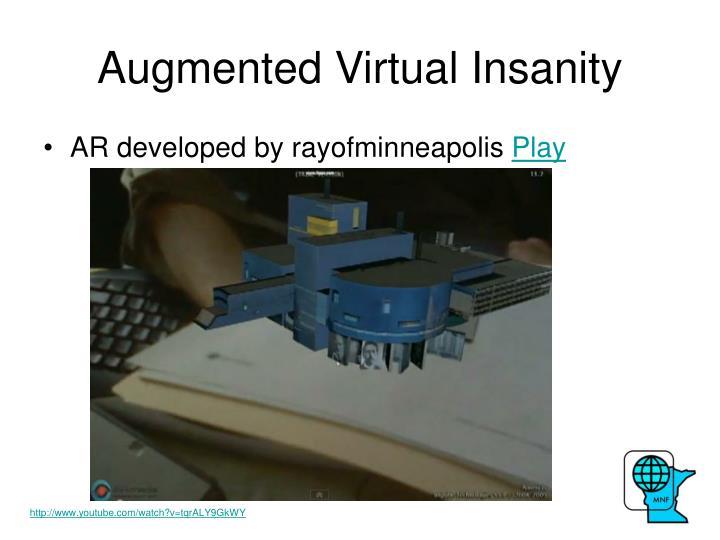 Augmented Virtual Insanity