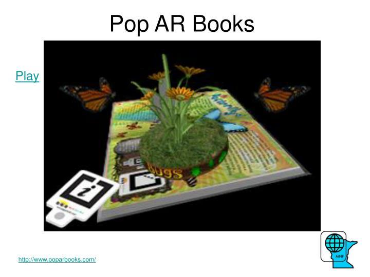 Pop AR Books