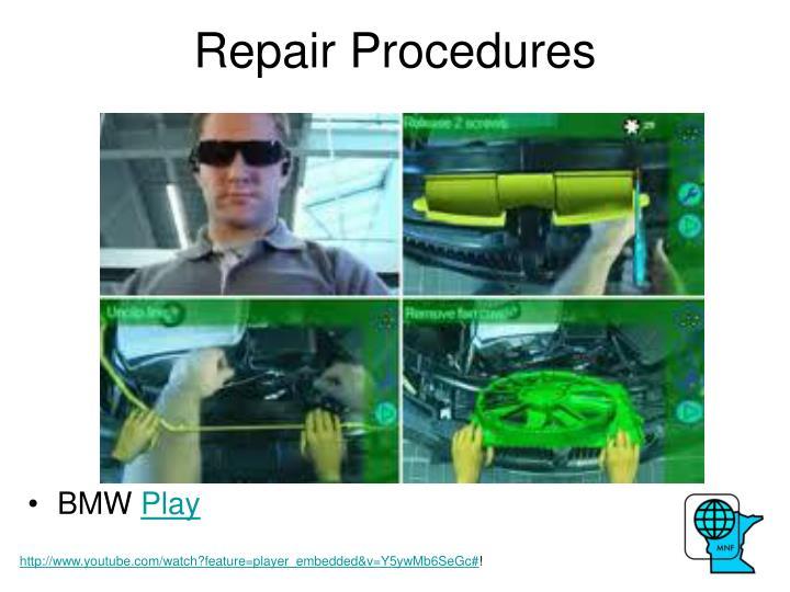 Repair Procedures