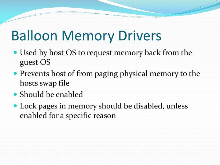 Balloon Memory