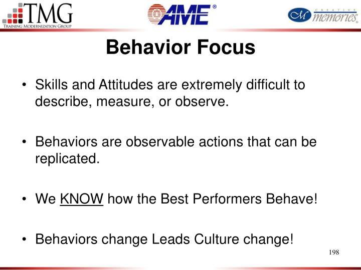Behavior Focus